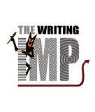 monochrome imp swirly letters
